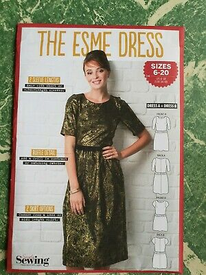 Simply sewing The Esme dress pattern size 6 - 20 uncut