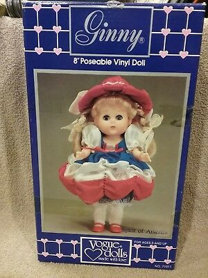 "Vogue Dolls Ginny Spirit of America 8"" Poseable Doll"