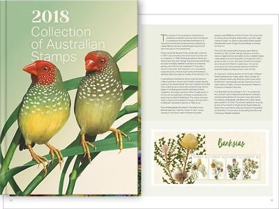 2018 Collection of Australian Stamps - Free Shipping LAST ONE