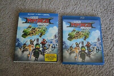 The LEGO NINJAGO Movie Includes SlipCover (Blu-ray Disc, 2017, 2-Disc Set)