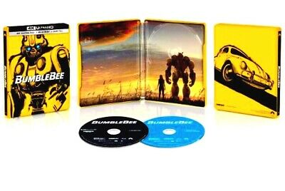 Bumblebee 4K Ultra HD + Blu-ray Best Buy Steelbook Transformers Volkswagon
