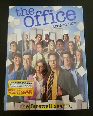 The Office: Season Nine (DVD, 2013, 5-Disc Set), brand new / sealed - FREE SHIP