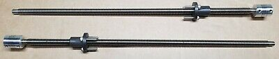 Lead Screw T10 10mm Pitch 2mm Lead 10mm Trapezoidal, nuts, couplers, bolts 400mm