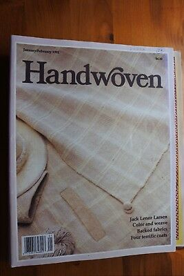 Pack 6 - 9 x Handwoven Magazines 1991 - 1992