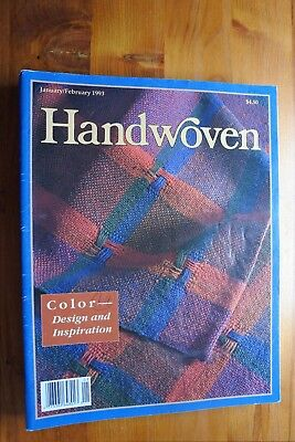 Pack 7 - 10 x Handwoven Magazines 1993 - 1994