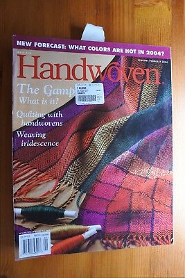 Pack 11 - 7 x Handwoven Magazines 2004 - 2005