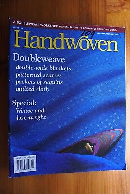 Pack 10 - 8 x Handwoven Magazines 2002 - 2003