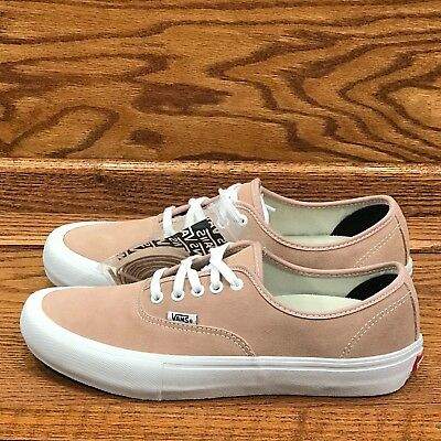 f9879fc818be VANS AUTHENTIC PRO Mahogany Rose White Size 12 Skate Shoes S8A247 ...