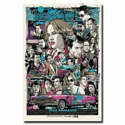 Z-2039 Hot True Romance Love Classic Movie Vintage Film Silk Art Poster Decor