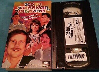 More American Graffiti VHS Ron Howard Paul Le Mat Cindy Williams