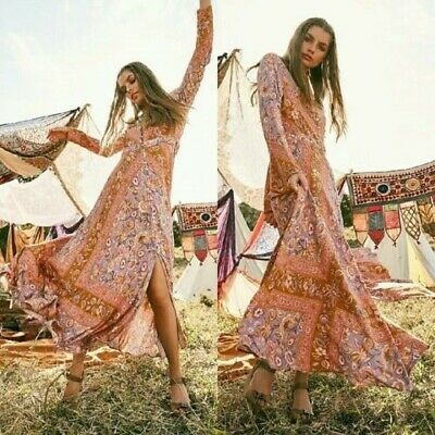 Spell & the Gypsy Collective Lolita Lover Maxi Gown, S 10-12 fitted, 8-10 looser