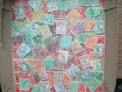 ESTATE: Kangaroo to 10/- and KGV in box unchecked unsorted as received   (s817)
