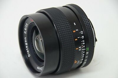 Contax Distagon 28mm f/2.8 T* MM Japan Carl Zeiss Lens