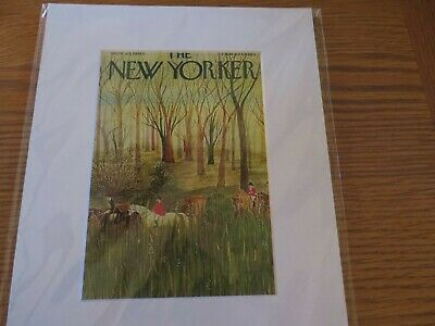 """The New Yorker"" cover print"