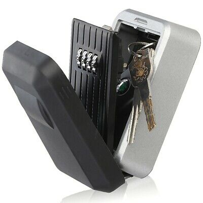 4-digit Combination Password Key Storage Box with Water Resistant Cover