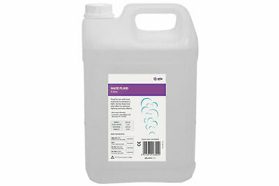 Qtx Haze Non-Toxic Fluid Eco 5 Litre For Light Effects & Laser Shows