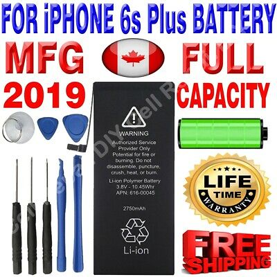 Brand NEW OEM Replacement iPhone 6S Plus Battery 2750 mAh with Free Tools