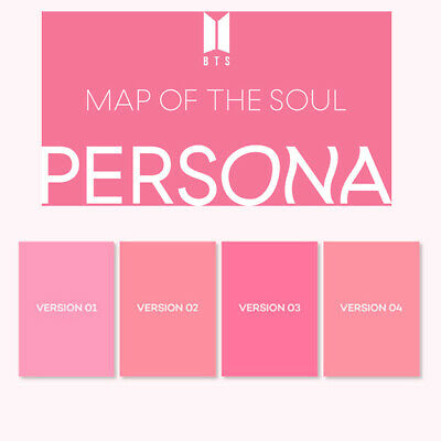 BTS MAP OF THE SOUL:PERSONA Album CD+POSTER+Book+Mini Book+Card+Postcard+Film