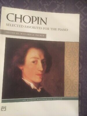 Chopin Selected Favorites For The Piano, Alfred Masterwork Edition