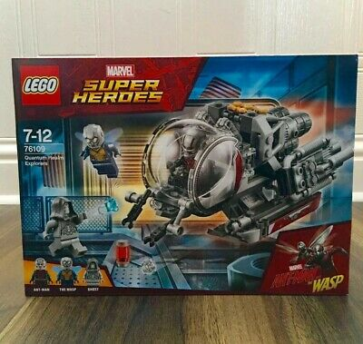 Lego 76109 Ant-Man and The Wasp Quantum Realm Explorers Set Marvel Super Heroes