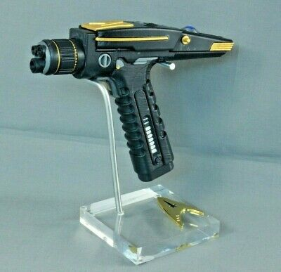 Star Trek TOS, Discovery Phaser Display Stand, Very High Quality