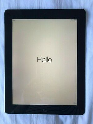 Apple iPad 4th Gen. 64GB, Wi-Fi, 9.7in - Space Grey - GOOD condition