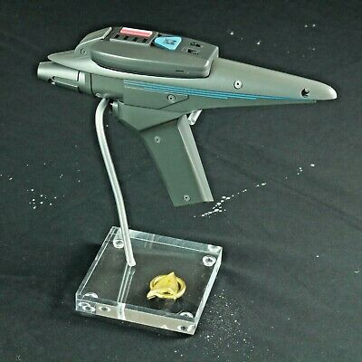 Star Trek, Search For Spock,  Phaser Display Stand,  Special Badge, High Quality
