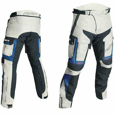 RST Pro Series Adventure III CE Textile Trousers Sand / Blue - 38