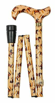 Classic Canes Folding Derby Cane - National Gallery - Whistlejacket