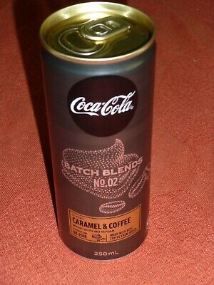 """""""250ml Coke Can with Caramel & Coffee"""" that was only served at selected bars"""