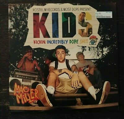 Mac Miller K.I.D.S. KIDS vinyl LP swimming faces divine feminine