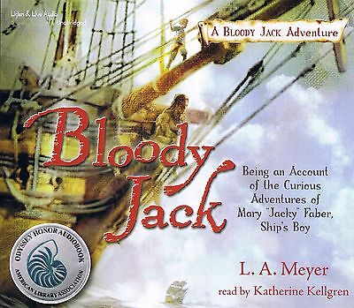 Complete 12-Audiobook BLOODY JACK Series - All Unabridged - New - FREE SHIPPING