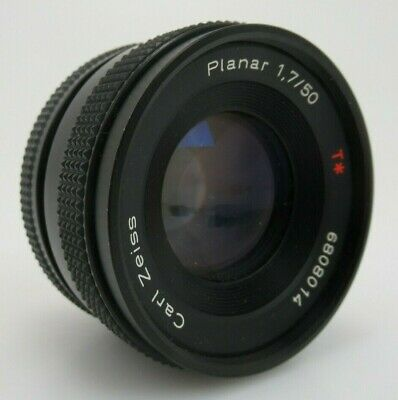 Carl Zeiss Planar 1,7 50 mm T 6808014 Contax yashica  MM Version om051