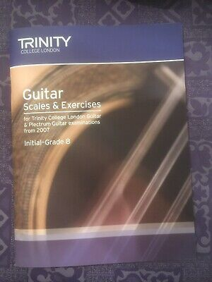 Trinity College, Guitar Scales & Exercises Initial-Grade 8