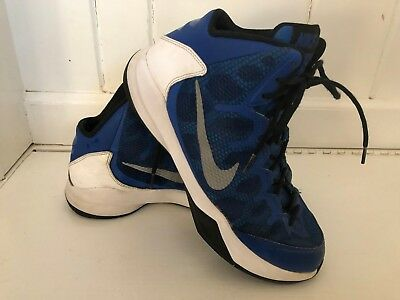 0731fbb8325c NIKE ZOOM Without A Doubt Blue BASKETBALL SHOES sneakers Mens 9 EUC  749432-401