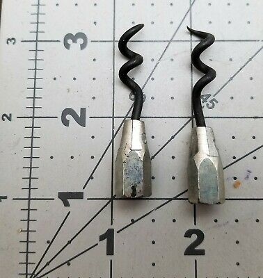 "(2) Packing Extractor Tips, Corkscrew, 2"" PALMETTO F2 PACKING 1108 [B6BC]"