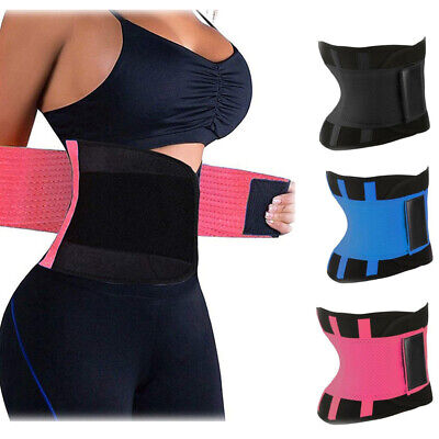 Waist Trainer Belt Cincher Trimmer Underbust Shaper Corset Shapewear Body Tummy