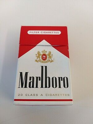 Marlboro 20's Empty Cigarettes Packet Collectable display Smoking Prop