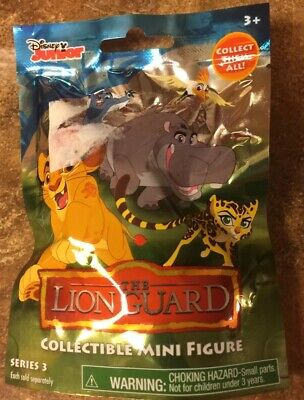 Disney Junior The Lion Guard Series 3 Collectible Mini Figure Mystery Bag~NEW~
