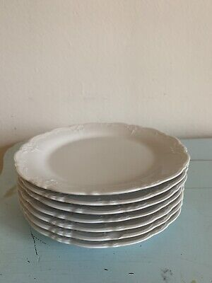 """Tirschenreuth """"Baronesse"""" White China Bread And Butter Plate"""