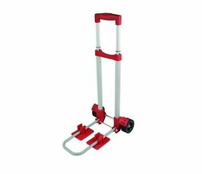 Folding Mini Hand Truck 30 KG Storage Pulley Pull Dolly Cart DIY Carry Wheels