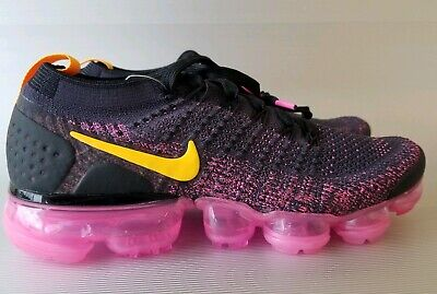 6a270b20fa WOMEN'S NIKE AIR VAPORMAX FLYKNIT 2, PINK BLAST, RUNNING SHOES , Size 7,