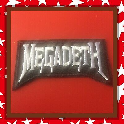 🇨🇦 Megadeth Rock Band  Patch Embroidered Sew On/stick On Clothing/new 🇨🇦