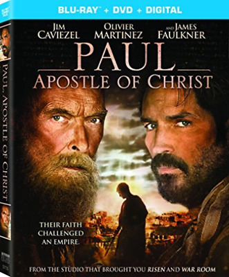 PAUL APOSTLE OF CHRIST (2PC...-PAUL APOSTLE OF CHRIST (2PC) (W/DVD)  Blu-Ray NEW