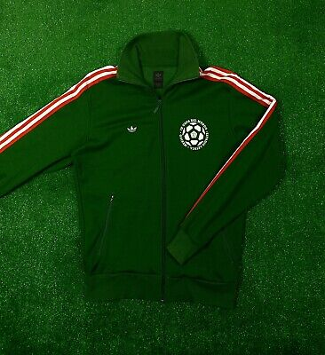 778a895421f56 VINTAGE ADIDAS 70S Track Jacket Green Zip Up Trefoil Logo Mens Size M Medium