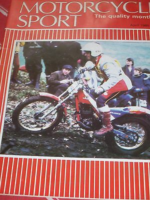 Motorcycle Sport 04/85 LC Syndrome,The TT Experience,40 years of Road Racing etc