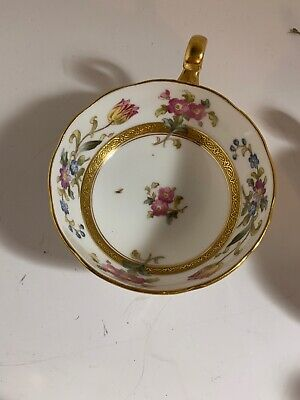 Cauldon Floral Tea cup & Staffordshire England Vintage 1 Tea Cup 3 Available