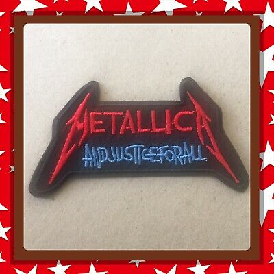 🇨🇦Metallica Justice For All Embroidered Patch  Sew On/stick On Clothing/new