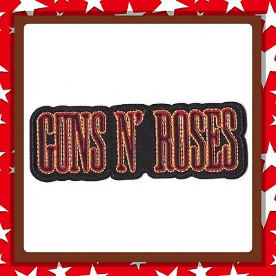 🇨🇦 Guns N Roses Logo Rock Embroidered Patch Sew On/stick On Cloth/new 🇨🇦 #29