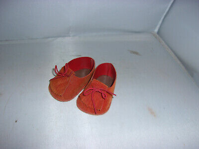 Alte Schuhe-Puppe Gr. 53-rostrot-Stolle